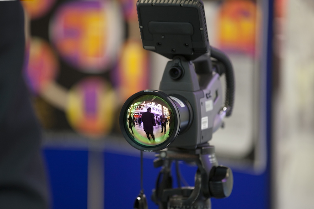 Top-of-the-range thermal camera (copyright: Plymouth University)